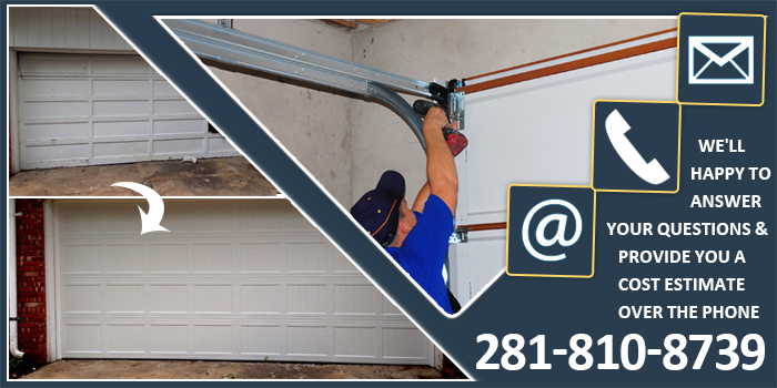 Repair Garage Door League City TX